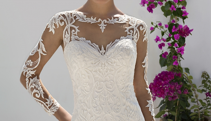 Best Long Sleeved Wedding Dresses for Winter and Autumn Brides